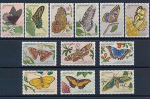 [SU356] Suriname Surinam 1983 Butterflies MNH
