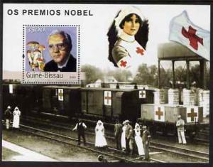 Guinea - Bissau 2003 Nobel Prize Winners #2 perf s/sheet ...