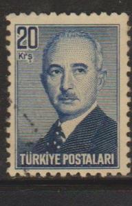 Turkey Sc#972 Used