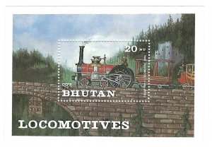 Bhutan  SS   Cramptons   Mint NH VF  PD