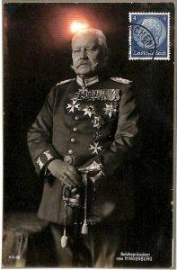 90065 - GERMANY-  MAXIMUM CARD 1934  Paul von Hindenburg POLITICS