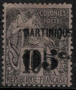 Martinique 1886-1888 SC 12 Mint SCV $120.00