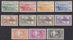 New Hebrides (Fr) 1957 SC 98-108 MNH Set
