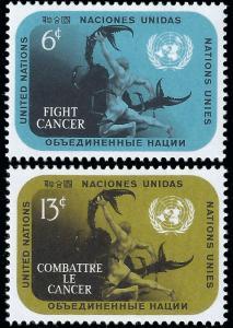United Nations NY 1970 Sc 207-208 MLH