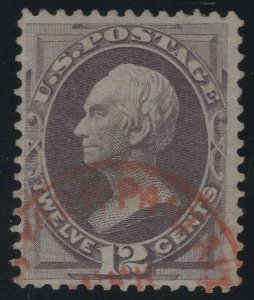 #151, Used, Beautiful Red Cancel with PFC  (GP2 11/14/19)