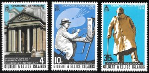 Gilbert & Ellice Islands # 234 - 36 Mint Never Hinged