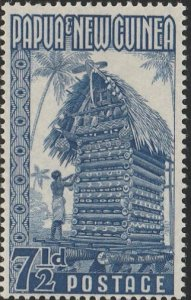 Papua New Guinea, #129  MH From 1952