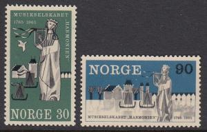 Norway 477-8 mnh