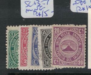 El Salvador SC 13-7 MNG (9dvt)