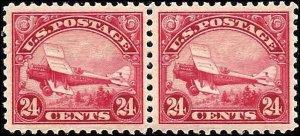 C6 Mint,OG,NH... Pair... SCV $260.00... XF