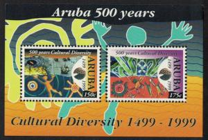 Aruba Columbus 500 Years of Cultural Diversity MS SG#MS246