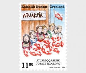 2020 Greenland First Day in School (Scott NA) MNH