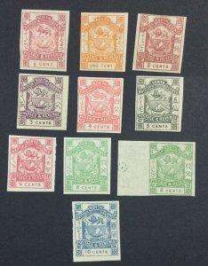 MOMEN: NORTH BORNEO SG # 1888 IMPERF MINT OG H £ LOT #6942