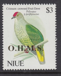 Niue O26 Bird MNH VF