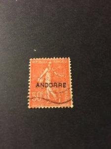 Andorra French Adm sc 12 u