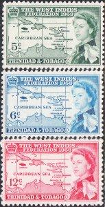 Trinidad & Tobago #86-88 MH