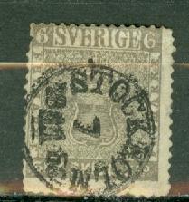 Sweden 3 used CV $1600