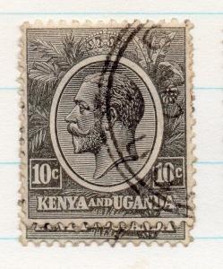 Kenya Uganda 1922 GV Early Issue Fine Used 10c. 198423