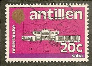 Netherlands Antilles  Scott    499   Saba   Used