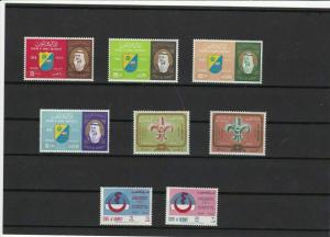 kuwait mounted mint stamps ref 16415