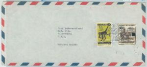 78990 - COLOMBIA - POSTAL HISTORY -  COVER  from  CHOACHI 1962  - Monkey