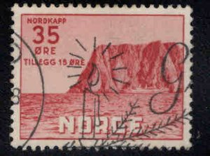Norway Scott B60 Used 1957 North Cape semi-postal CV $12