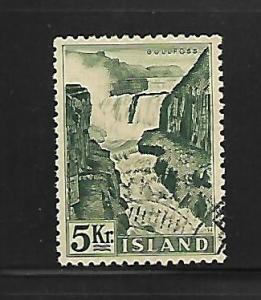 ICELAND, 296, USED, GULLFOSS FALLS