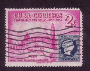 Cuba Sc. # 539 Used
