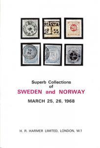 Harmer: Sale # 3511-3512  -  Superb Collections of Sweden...