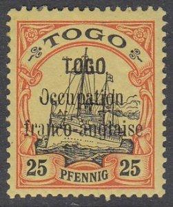 Togo 159 MVLH (see Details) CV $80.00