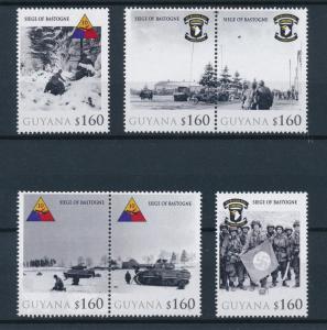 [81079] Guyana 2010 Second World war Relief of Bastogne Ardennes offensive MNH