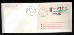 CANADA Scott # 1-ST On Cover - Experimental Label Cancelled Wabush In Period