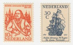 Netherlands - 1957 - SC 370-71 - NH - Complete set