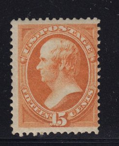 152 Fine unused ( mint regummed ) with nice color cv $ 1100 ! see pic !