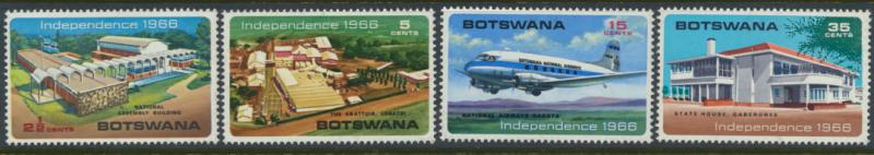 Botswana  SG 202 - 205 Lightly Mounted Mint