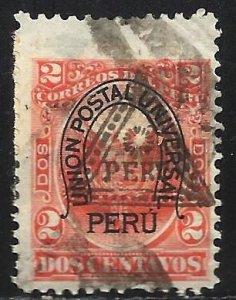 Peru 1883 Scott# 81 Used