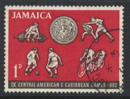 Jamaica SG 197  Used SC# 197 Caribbean Games  see details