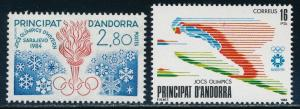 Andorra - Sarajevo Olympic Games Sports Set (1984)