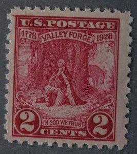 United States #645 Washington Valley Forge MNH