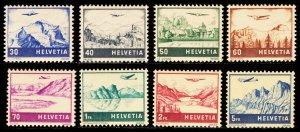 SWITZERLAND C27-34  Mint (ID # 99579)