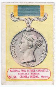 (I.B-CK) Cinderella : National War Savings (Medals Series 56) Crimea