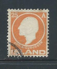 Iceland 91 used, 2018 CV $50.00