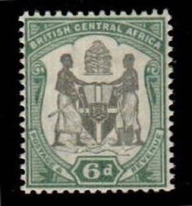 British Central Africa Scott 48 Mint hinged (Catalog Value $55.00)
