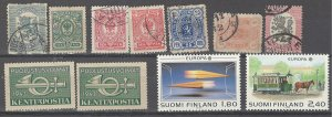 COLLECTION LOT # 2484 FINLAND 11 STAMPS 1881 CLEARANCE CV+$25