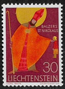 Liechtenstein #433 MNH Stamp - St. Nicholas