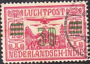 Netherlands Indies #C12  Used