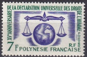 French Polynesia #206 MNH CV $15.00 (Z7742)