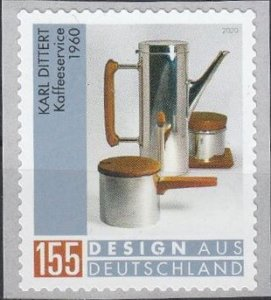 Coffee Service by Karl Dittert,Michel# 3570 MNH,