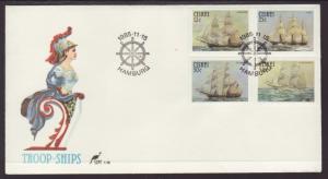 Ciskei 85-88 Sailing Ships U/A FDC