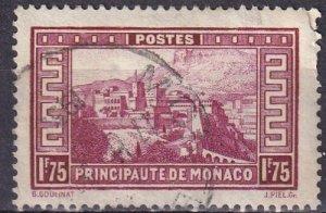 Monaco #123 F-VF Used CV $9.50 (Z4338)